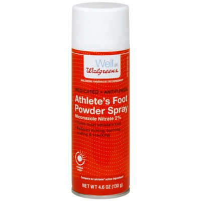 Walgreens Athlete's Foot Powder Spray