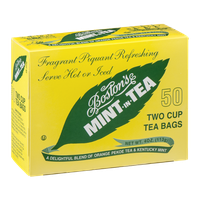 Boston's Mint-In-Tea Two Cup Tea Bags - 50 CT