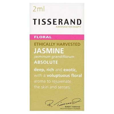 Tisserand Aromatherapy Tisserand Jasmine Absolute Oil in Organic Jojoba Pure Skin Perfume 9ml