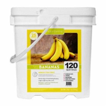Lindon Farms Freeze Dried Bananas, 120 Servings, 1 ea