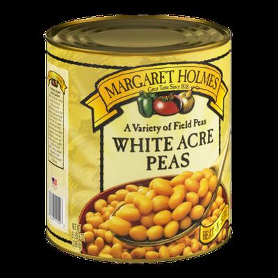 Margaret Holmes White Acre Peas