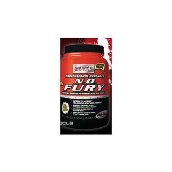 Six Star Muscle Building SIX STAR BODY FUEL PRO STRENGTH, NO FURY, Fruit Punch 1.2 LB, Tub