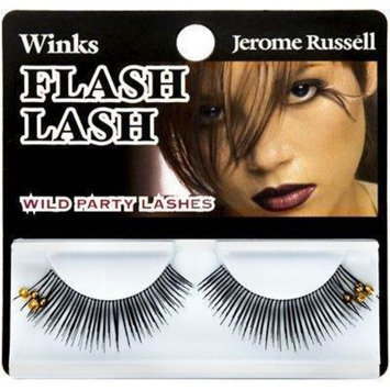 Jerome Russell Yellow Beads Winks False EyeLash
