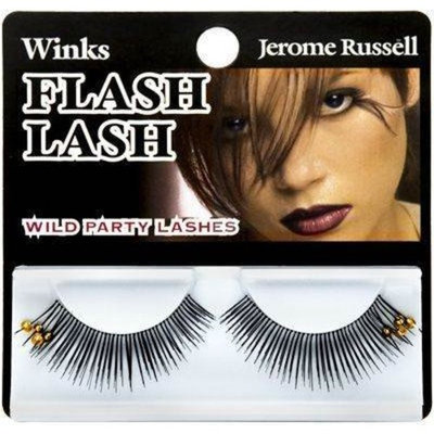 Jerome Russell Yellow Beads Winks False EyeLash