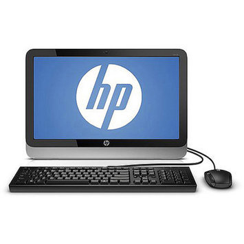 HP Black 19-2113w All-In-One Desktop PC with Intel Celeron J1800 Processor, 4GB Memory, 19.45