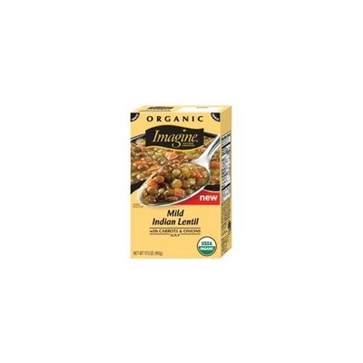 Imagine Mild Indian Lentil Soup, 17.3-Ounce (Pack of12)