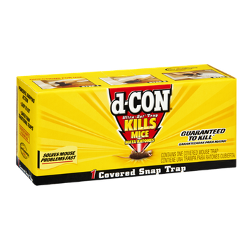 D-Con Ultra-Set Trap Kills Mice Covered Snap Trap