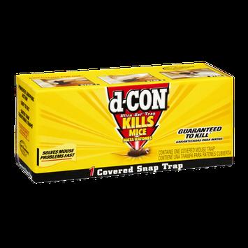 D-Con Ultra-Set Trap Kills Mice Covered Snap Trap