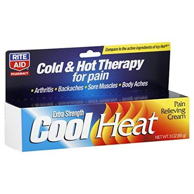 Rite Aid Cool Heat Pain Relieving Cream, Extra Strength 3 oz
