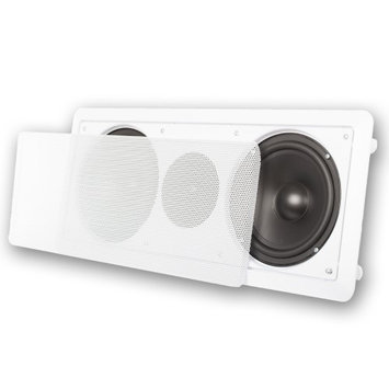 Acoustic Audio CC6 6.5a€ 300W Center Channel Home Theater In-Wall Speaker