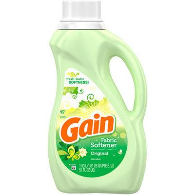 Gain Liquid Fabric Softener with FreshLock Original