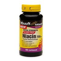 Mason Natural Niacin 750mg FLUSH FREE