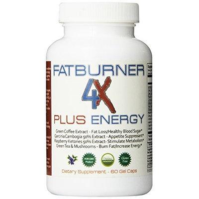 Natures dynamics fat burner 4x plus energy supplement