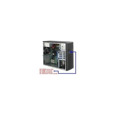 Supermicro CSE-732D4-500B Supermicro Case CSE-732D4-500B SC732D4 Front Audio USB3. 0-2. 0 500W Black