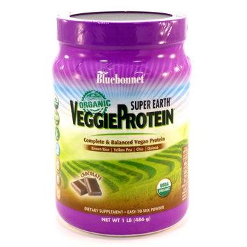 Super Earth VeggieProtein Chocolate Bluebonnet 1 lb Powder