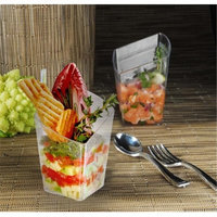 Fineline Settings 6407-CL Clear Tiny Trifles Appetizer Dish