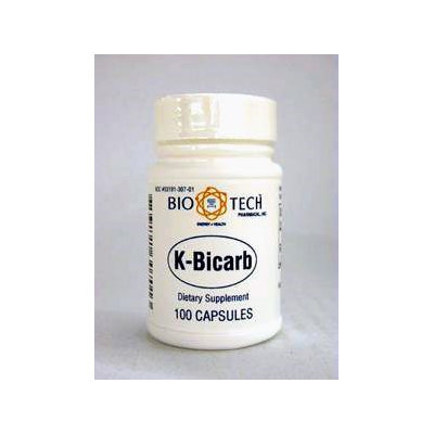 K-Bicarb 100 caps by Bio-Tech