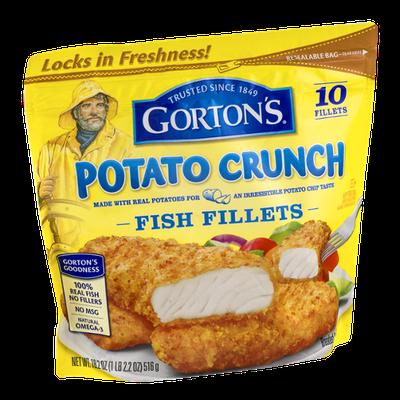 Gorton's Potato Crunch Fish Fillets - 10 CT