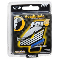 HeadBlade HB4 Shaving Cartridges