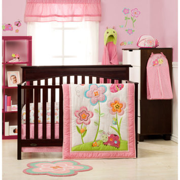 Graco Sweet Ladybug 3-Piece Crib Bedding Set - Value Bundle
