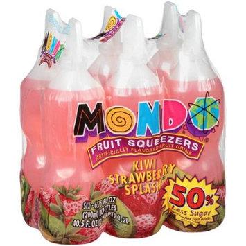 Mondo Fruit Squeezers Kiwi Strawberry Splash Fruit Drink, 6.75 fl oz, 6 count