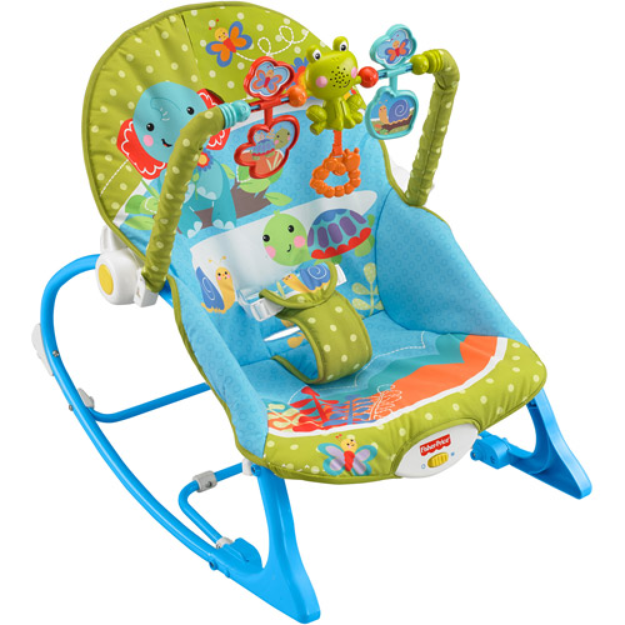 FISHER PRICE Fisher-Price Infant-to-Toddler Rocker, Elephant Friends
