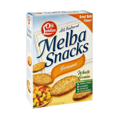 Old London All Natural Sesame Melba Snacks