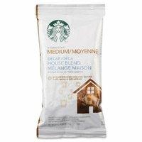 Starbucks 11018191 Coffee Decaf House Blend 2.5 oz Pack 18/BX