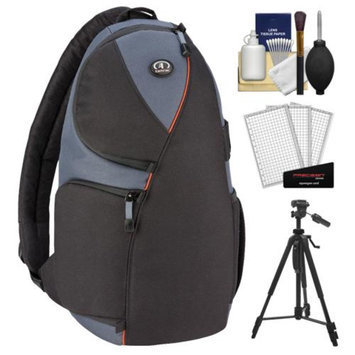 Tamrac 4278 Jazz 78 Digital SLR Camera Sling Backpack Case (Black/Multi) with Tripod + Accessory Kit