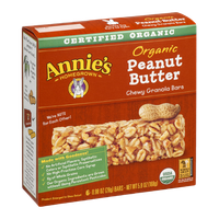 Annie's®  Homegrown Chewy Granola Bars Peanut Butter