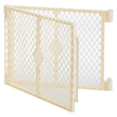 North States Industries North States Superyard Ultimate 2-Panel Extension Set - Ivory