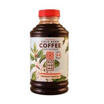 Kohana Organic Cold Brew Coffee Concentrate French Vanilla 16 fl oz