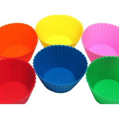 I Source Silicone Baking Cups, 6pk