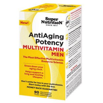 Super Nutrition AntiAge Men's Multivitamins, Tablets, 90 ea