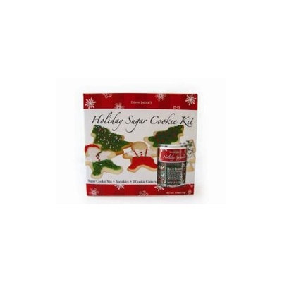 Dean Jacob's Holiday Sugar Cookie Kit-10.9 oz Kit