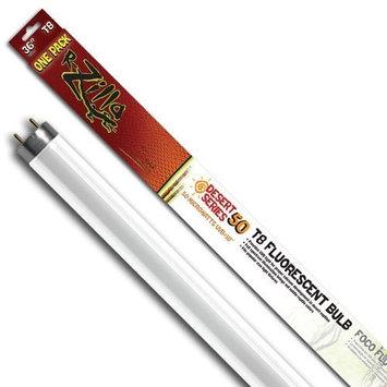 Zilla 11968 36-Inch Desert 50 UVB T8 Fluorescent Bulb, 25-Watt