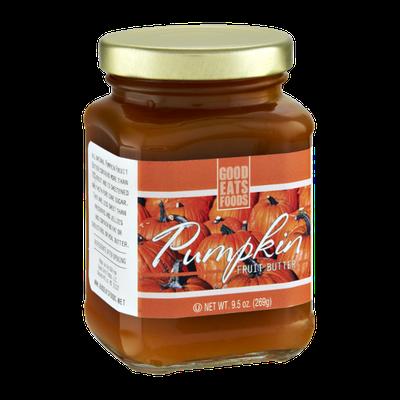 Good Eats Foods Pumpkin Fruit Butter