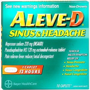 Aleve-D Sinus & Headache
