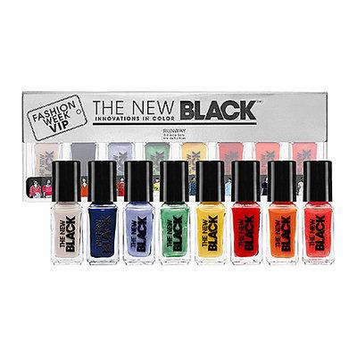 The New Black Runway - Color Baromoter 8-Piece Nail Polish Set