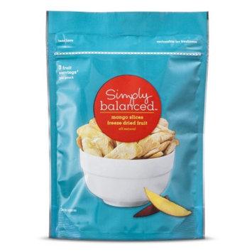 Simply Balanced Freeze Dried Mango Slices 1.5 oz