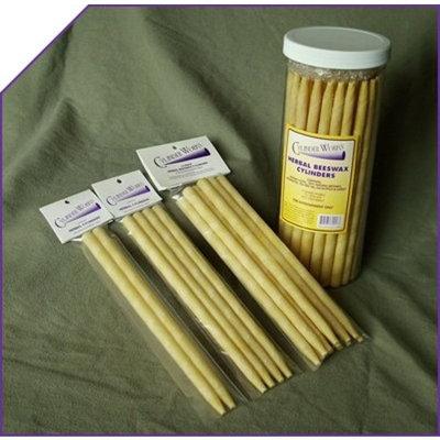 Herbal Beewax Ear Candles - 2 PAK,(Cylinder Works)