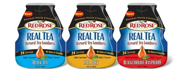 Red Rose Tea Red Rose Real Tea Premium Water Enhancers