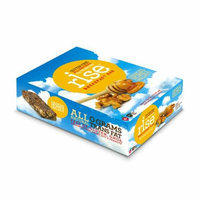 Rise Bar Breakfast Bar Crunchy Honey Walnut Case of 12 1.4 oz