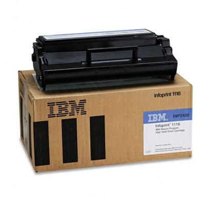Ibm IBM 28P2420 Toner Cartridge, High-Yield, Black