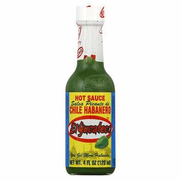 La Preferida El Yucateco Green Chile Habanero Hot Sauce