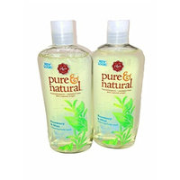 Pure & Natural Bodywash Cleansing Rosemary and Mint, 16-Ounce (Pack of 2)