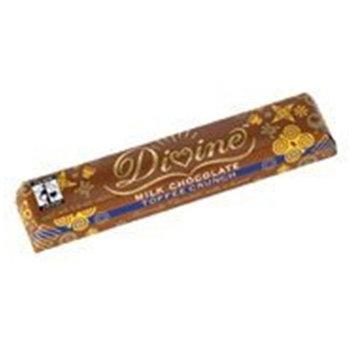 Divine Chocolate, Milk Toffee Crunch, 1.50 OZ (Pack of 30)