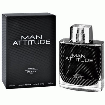 Parfums Deray Deray 'Man Attitude' Men's 3.4-ounce Eau de Toilette Spray
