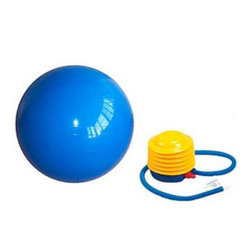 Sivan Health And Fitness Yoga 65-cm Balance Ball with Foot Pump