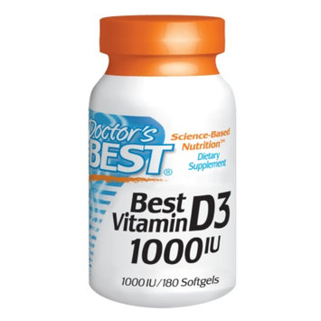 Doctor's Best Vitamin D3 1000 IU